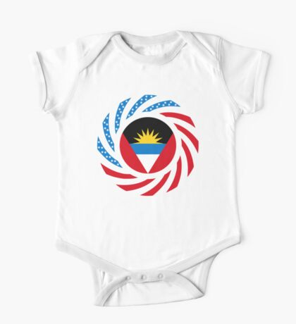 Antigua & Barbuda American Multinational Patriot Flag Kids Clothes