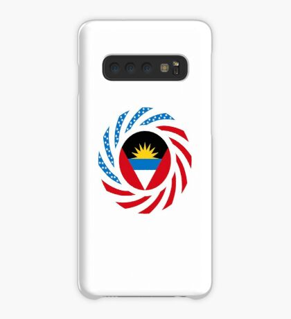 Antigua & Barbuda American Multinational Patriot Flag Case/Skin for Samsung Galaxy