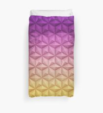 Spaceship Earth - Epcot At Night Duvet Cover