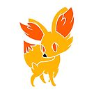 Fennekin 1 by dreamlandart