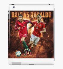 Gareth Bale vs Cristiano Ronaldo iPad Case/Skin