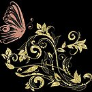 Butterfly Golden by Delights