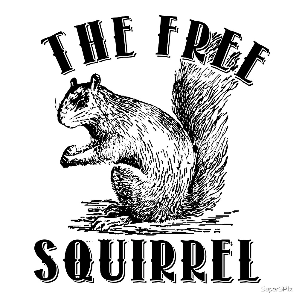 The Free Squirrel by SuperSPIx