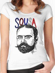 John Philip Sousa Women's Fitted Scoop T-Shirt