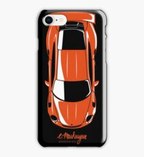 GT3 RS (top view) iPhone Case/Skin