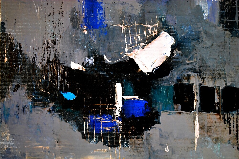 Abstract blue by calimero