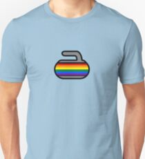Pride Rocks! Curling Rockers Unisex T-Shirt