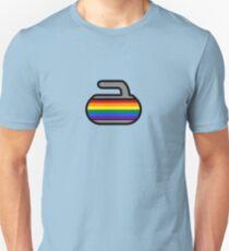 Pride Rocks! Curling Rockers Unisex T-Shirt