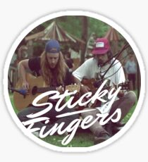 Sticky Fingers Sticker