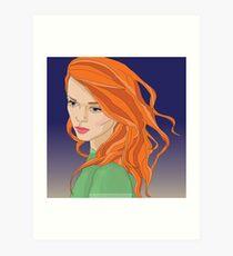 Sansa Stark Art Print