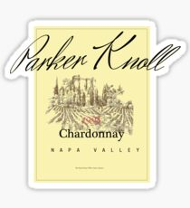Parker Knoll Chardonnay Sticker