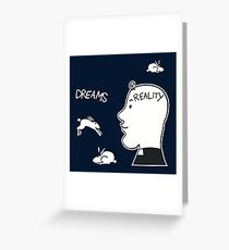 Fr. Ted - Dreams Vs. Reality Greeting Card