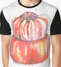 Turban Squash Painted in Watercolor Graphic T-Shirt