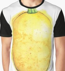 Spaghetti Squash Painted in Watercolor Graphic T-Shirt
