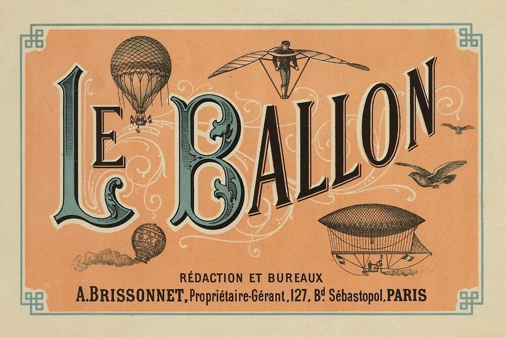 Le Ballon Rédaction et Bureaux by ARTPICS STORE