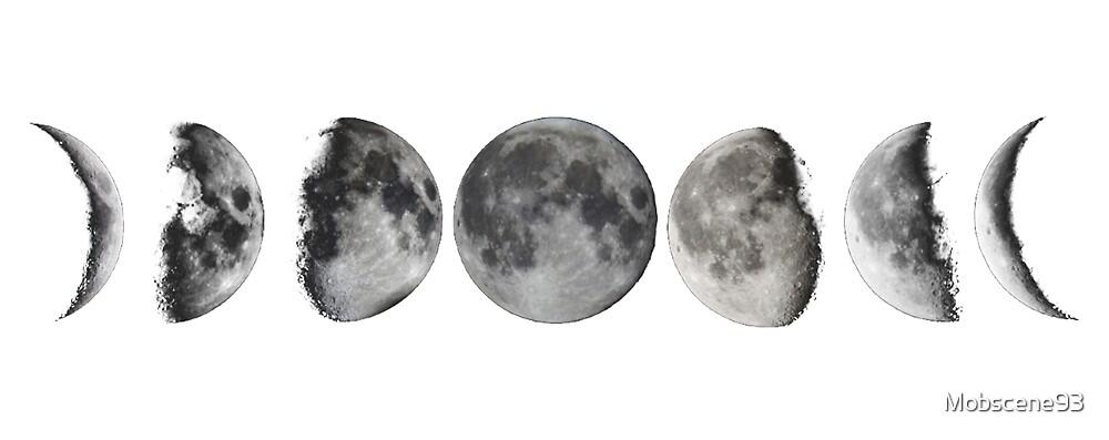 Lunar Phases by Mobscene93