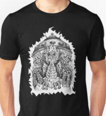 INVADED (white reverse print) T-Shirt