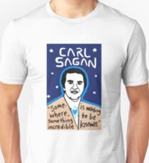 Carl Sagan pop folk art Unisex T-Shirt