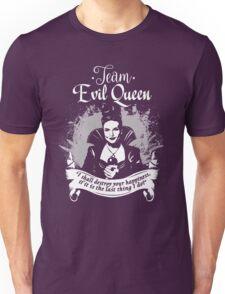 Team Evil Queen OUAT. Silver version. Unisex T-Shirt
