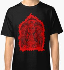 INVADED (red reverse print) Classic T-Shirt