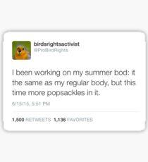 Summer Bod Sticker
