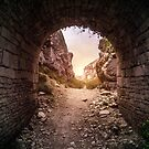 The Arch of Portland Quarry by Corbin Adler