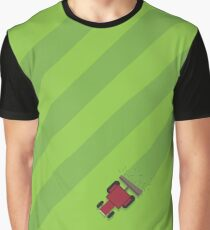 Cutting the Grass Graphic T-Shirt