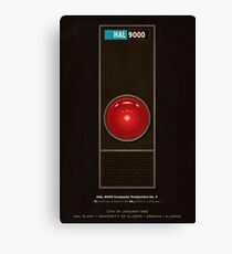 HAL 9000 computer from 2001 Canvas Print