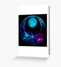 Nightingale Energies Greeting Card