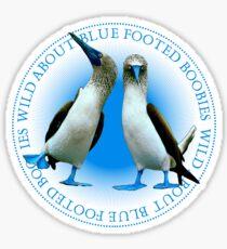 Blue Footed Boobies Sticker