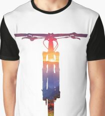 Mountain Bike Sunset - MTB Collection #002 Graphic T-Shirt