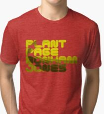 Plant Page Bonham Jones Tri-blend T-Shirt
