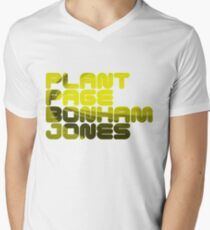 Plant Page Bonham Jones Men's V-Neck T-Shirt