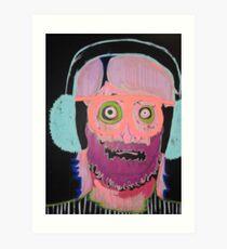 earmuffs! Art Print