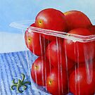 Cherry Tomatoes by Pamela Burger