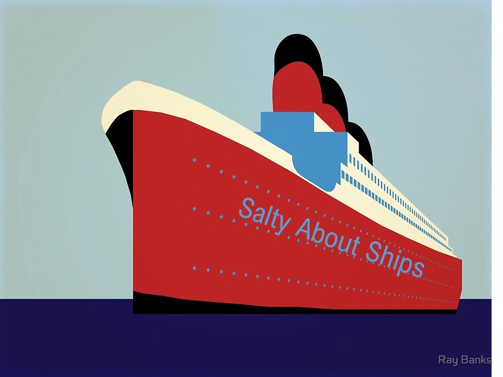 Salty About Ships by Ray Banks
