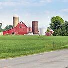 Rural Ohio Road by Kenneth Keifer