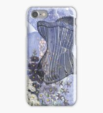 Lavender Purple Victorian Floral Steampunk Corset iPhone Case/Skin