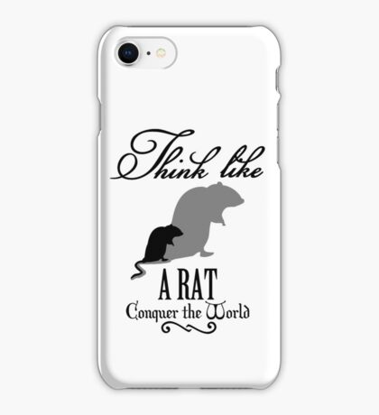 Think like Rat VRS2 iPhone Case/Skin
