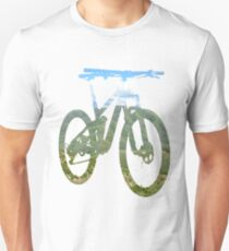Mountain Bike Mountain and Sky - MTB Collection #003 T-Shirt