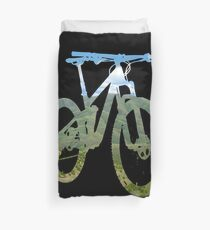 Mountain Bike Mountain and Sky - MTB Collection #003 Duvet Cover