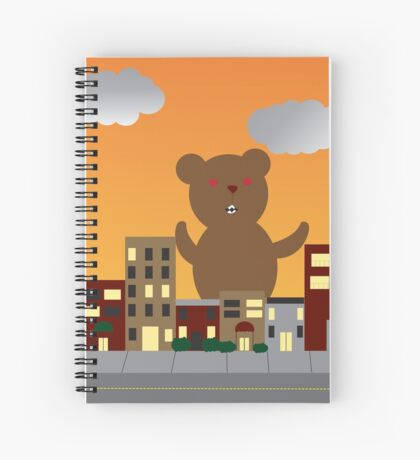 Monster Bear Spiral Notebook