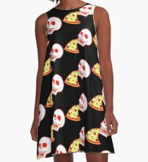 Pizza til I Die A-Line Dress