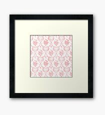 Grimm In Pink Framed Print