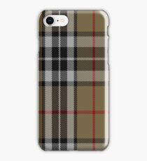 01484 Thomson Camel Fashion Tartan  iPhone Case/Skin
