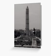Timeless DC Greeting Card