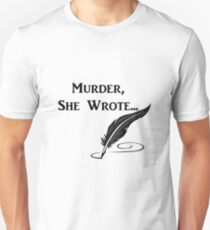 Murder, She Wrote - Quotes T-Shirt