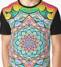 Mandala HD 2 Graphic T-Shirt