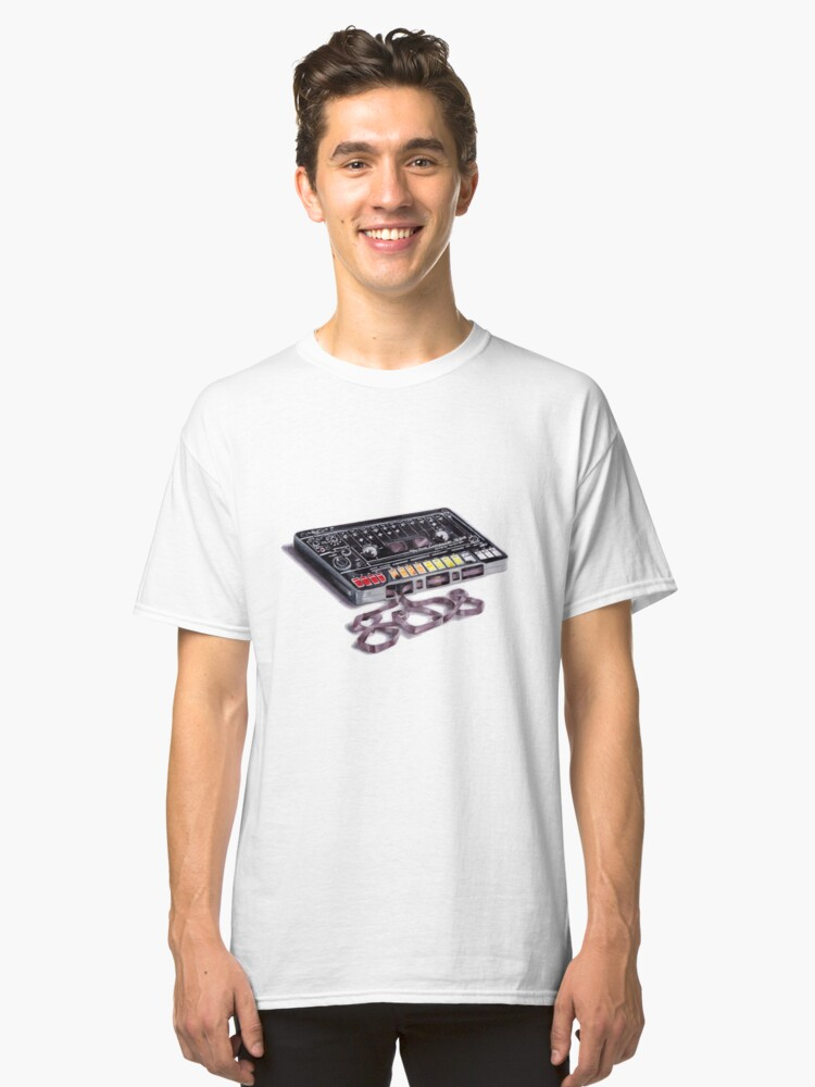 The 808 Tape Classic T-Shirt Front
