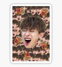 Monsta X Wonho Derp edit feat.Shin ramen Sticker